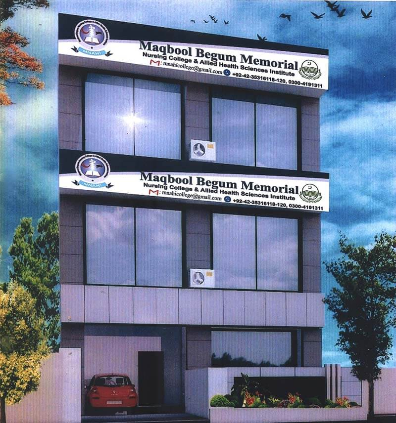 Nursing College | Maqbool Begum Memorial Nursing College & Allied Health Institute - MNAHI